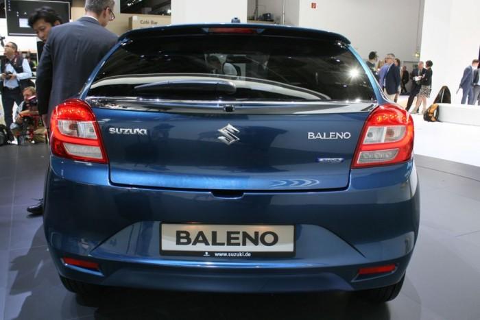 Várhatóan áprilisban lesz kapható hazánkban a Baleno. Családi autónak is kellően tágas