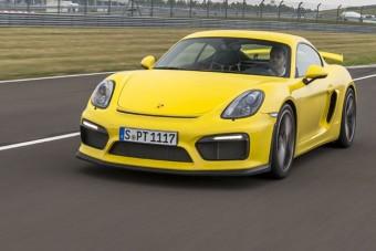 Vezettük: Porsche Cayman GT4