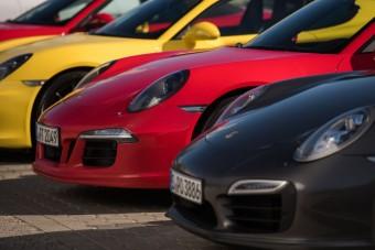 Vezettük: Porsche 911, Boxster, Panamera, Cayman, Cayenne, Macan