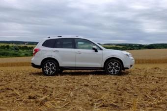 Teszt: Subaru Forester 2.0D Lineatronic