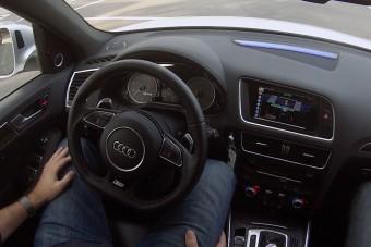 Forgalmi vizsgát az önjáró autóknak?