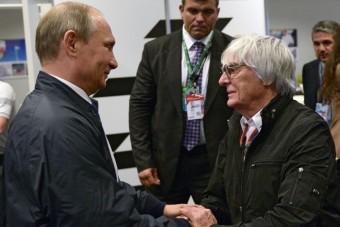 Ecclestone Putyin kezébe adná Európát