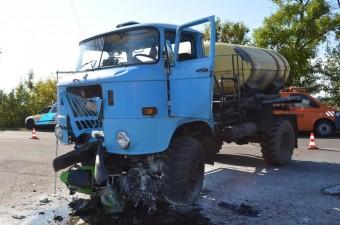 Megrázó képek a Jászságban történt ütközésről