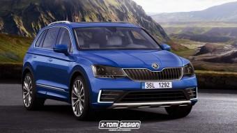 Ilyen lehet a Škoda új szabadidő-autója