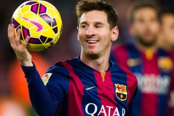 Az isteni Messi kisautót reklámoz