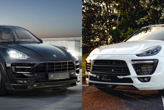 Két tuningolt Porsche SUV, melyiket kérnéd?