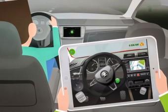 Vezetni tanítja a gyerekeket a Škoda