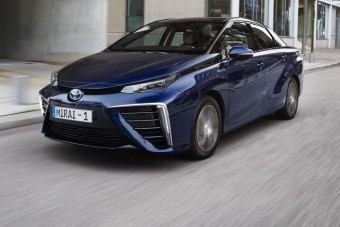 Vezettük: Toyota Mirai