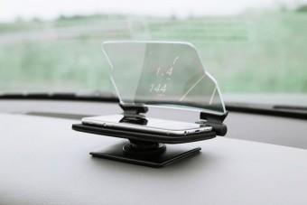Minimalista head-up display 13 ezerért