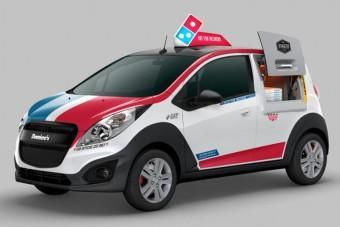 A legprofibb pizzafutár-kocsi, amit soha nem láthatunk