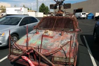 Az autós, aki felkészült az apokalipszisre