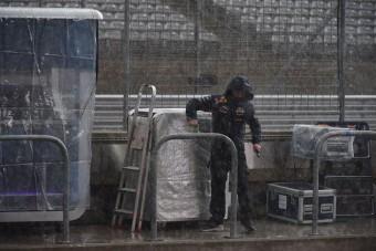F1: Szakad Austinban, nem nyitják ki a pályát