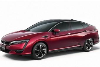 Itt a Honda válasza a Toyota Miraira