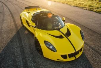 Van ennél gyorsabb autó?