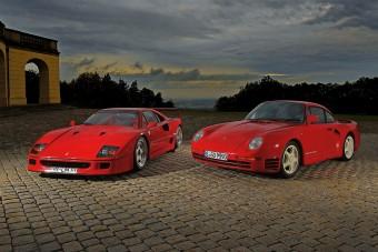 Az ászok ászai: Ferrari F40 és Porsche 959