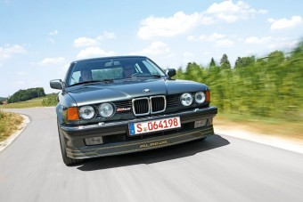 Vezettük: BMW Alpina B11 3.5