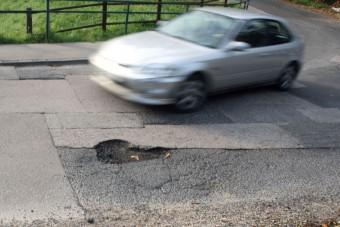 Kráterek a budapesti utakon