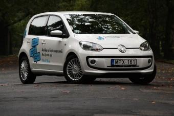 Teszt: VW Up! CNG