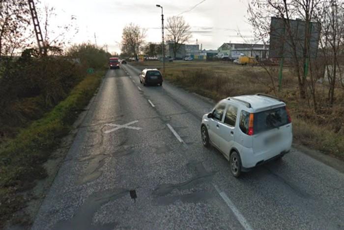 A Google fotója szerint az 510-es minősége nem éppen a forgalomnak megfelelő
