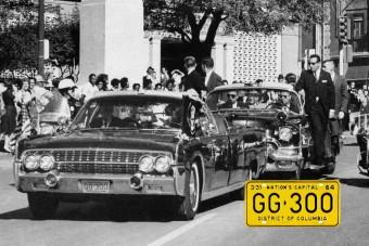 30 millió a lelőtt Kennedy rendszámtábláiért