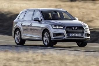 Vezettük: Audi Q7 e-tron quattro