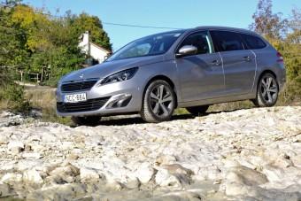 Teszt: Peugeot 308 SW 1.6 BlueHDi