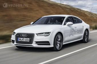 Vezettük: Audi A7 Sportback h-tron quattro