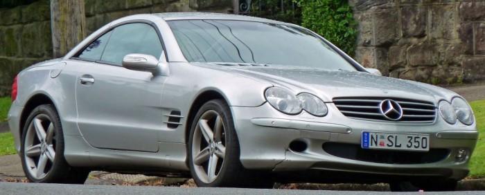Mercedes SL500 2004