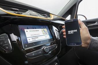 Okostelefon-integráció, wifi-hotspot az Opel Corsában