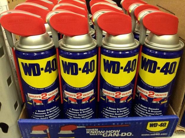 A WD-40 most is segít! - A befagyott zárak okozta bosszúságot előzhetjük meg, ha a zárszerkezetet még a fagyos idő beállta előtt kezeljük.