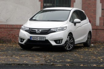 Teszt: Honda Jazz 1,3 CVT Elegance