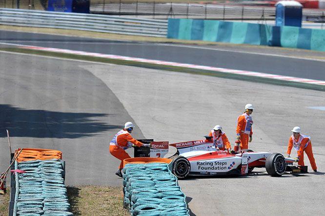 Monteiro lábát megmentette a légrés