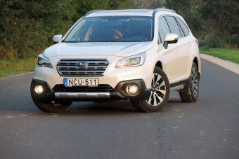 Teszt: Subaru Outback 2.0 D Lineartronic
