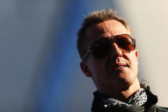 Schumacher már jár?