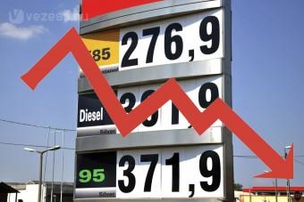 Szokatlan áresés várható a benzinkutakon