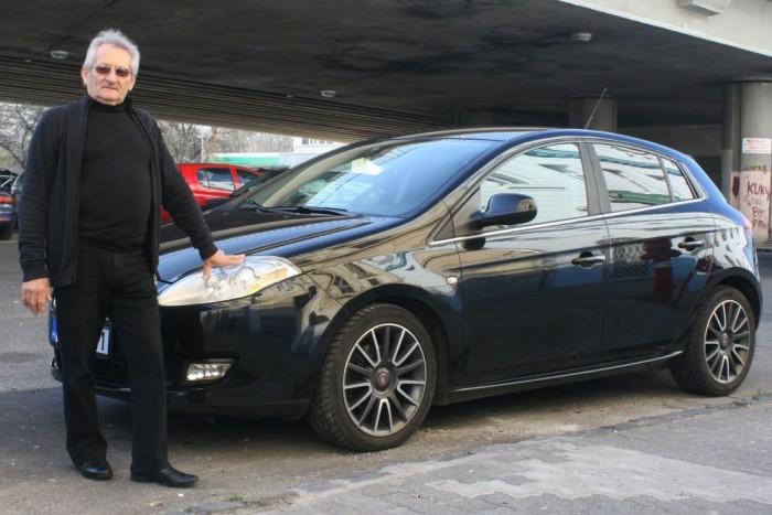 Oláh István egy Albeát cserélt le az újonnan vett Bravóra. Nem bánta meg, hogy dízel 80-as Audikból átült olasz autóba