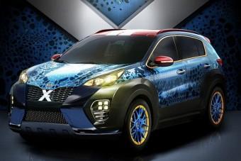 Különleges szolgálati autó X-Menéknek a Kiától