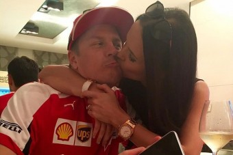 F1: Újra megházasodik Kimi Räikkönen