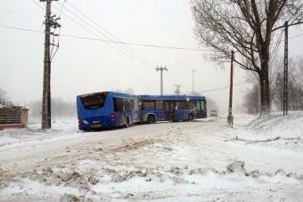 Csak néhány BKV-buszra jutott téli gumi