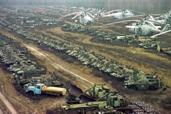 Újabb rejtély Csernobilból: több száz radioaktív harcjármű tűnt el