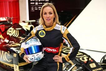 F1: Nevetségesen lassú a Renault pilótanője