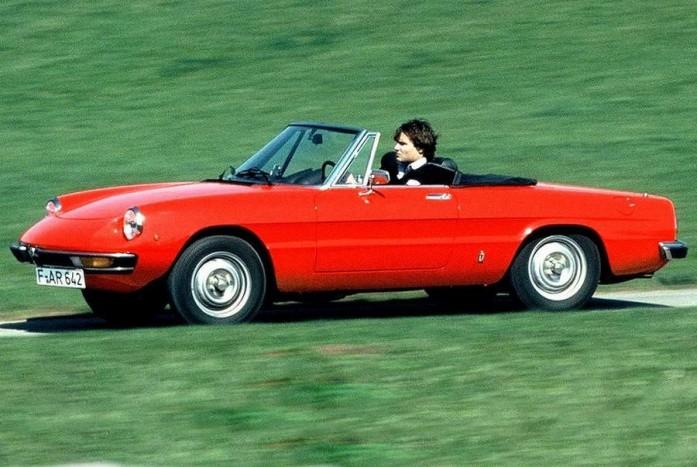 Alfa Romeo Spider, az ikonikus szivarforma kabrió