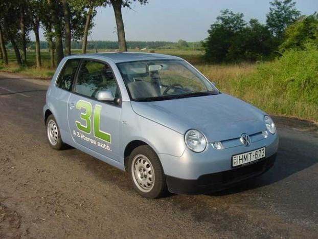2. – 3,7 literrel éppen hogy lecsúszott az első helyről a Volkswagen Lupo 3L, 249 Lupo adatai azt mutatják, hogy az 5 literes átlagot is nehéz vele elérni, a jellemző fogyasztási adat a 3,8 liter.