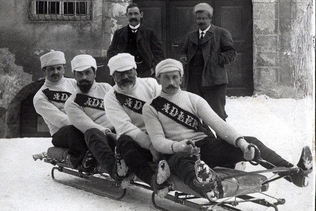 A svájci bobcsapat, 1910-ben