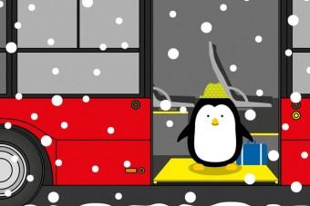 Cuki pingvinnel neveli utasait a BKK