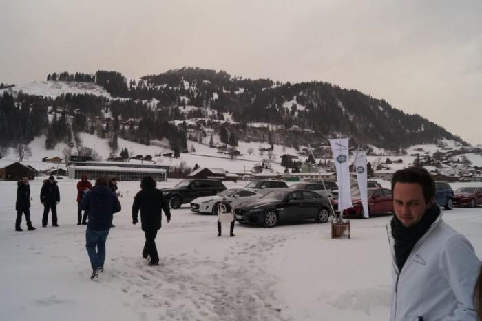 Elképesztően gyönyörű a svájci vidék télen Gstaad környékén, pláne, hogy itt van hó is
