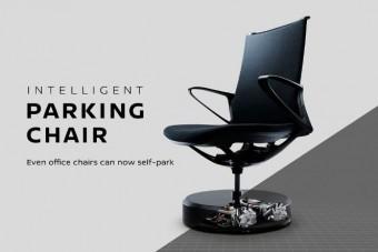 Magától parkol a Nissan irodai széke