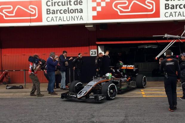 Force India VJM09, Alfonso Celis