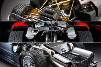 Felismered ezt a 20 autót motorterük alapján?