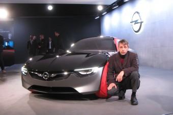 Őrzi titkát az új Opel GT tanulmány